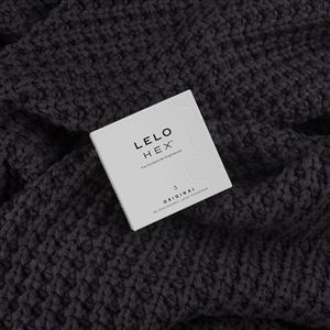 LELO HEX Condoms Original 3 Pack