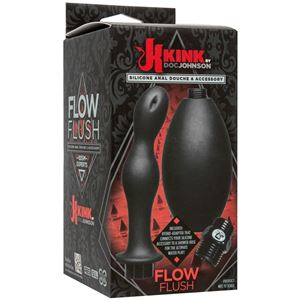 KINK Flow Full Flush Silicone Anal Douche & Accessory (2401-21-BX)