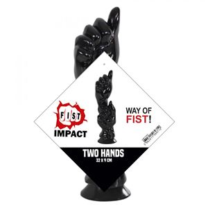 HardToys Fist Impact Two Hands 32 x 9 cm