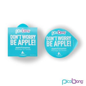 PicoBong Apple/Cinnamon Massage Oil Candle