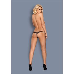 Obsessive 831-THC-1 Crotchless Thong L/XL