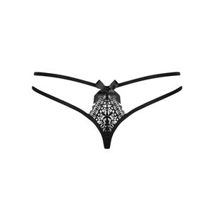 Obsessive Intensa Double Thong Black S/M