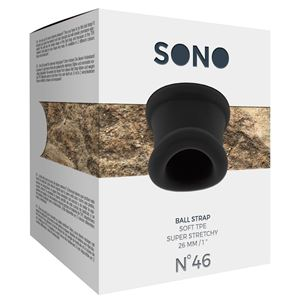 Sono No. 46 Ball Strap Black (SON046BLK)