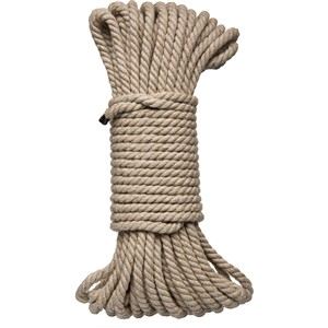KINK Bind & Tie 50 Ft Hemp Bondage Rope (2404-21-CD)