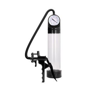 Pumped Elite Pump With Advanced PSI Gauge Transparent (PMP008TRA)