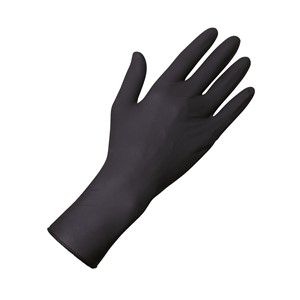 Unigloves Select Black 300 Gloves L