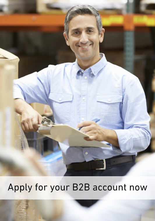 Apply for your B2B account now